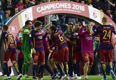 Barca đang rất thành công