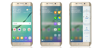 Cara Merubah tampilan android seperti S7 Edge Menggunakan Aplikasi Edge Screen Pro tanpa root.