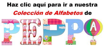 Alfabetos de Peppa Pig