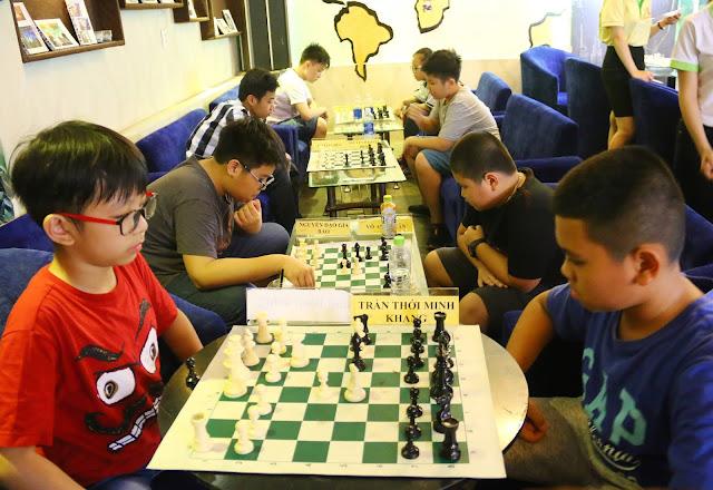 Cờ vua môn thể thao trí tuệ bổ ích cho trẻ