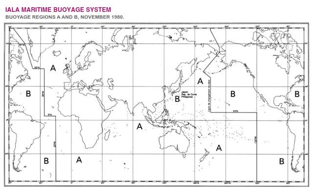 IALA BUOYAGE SYSTEM REGION A B
