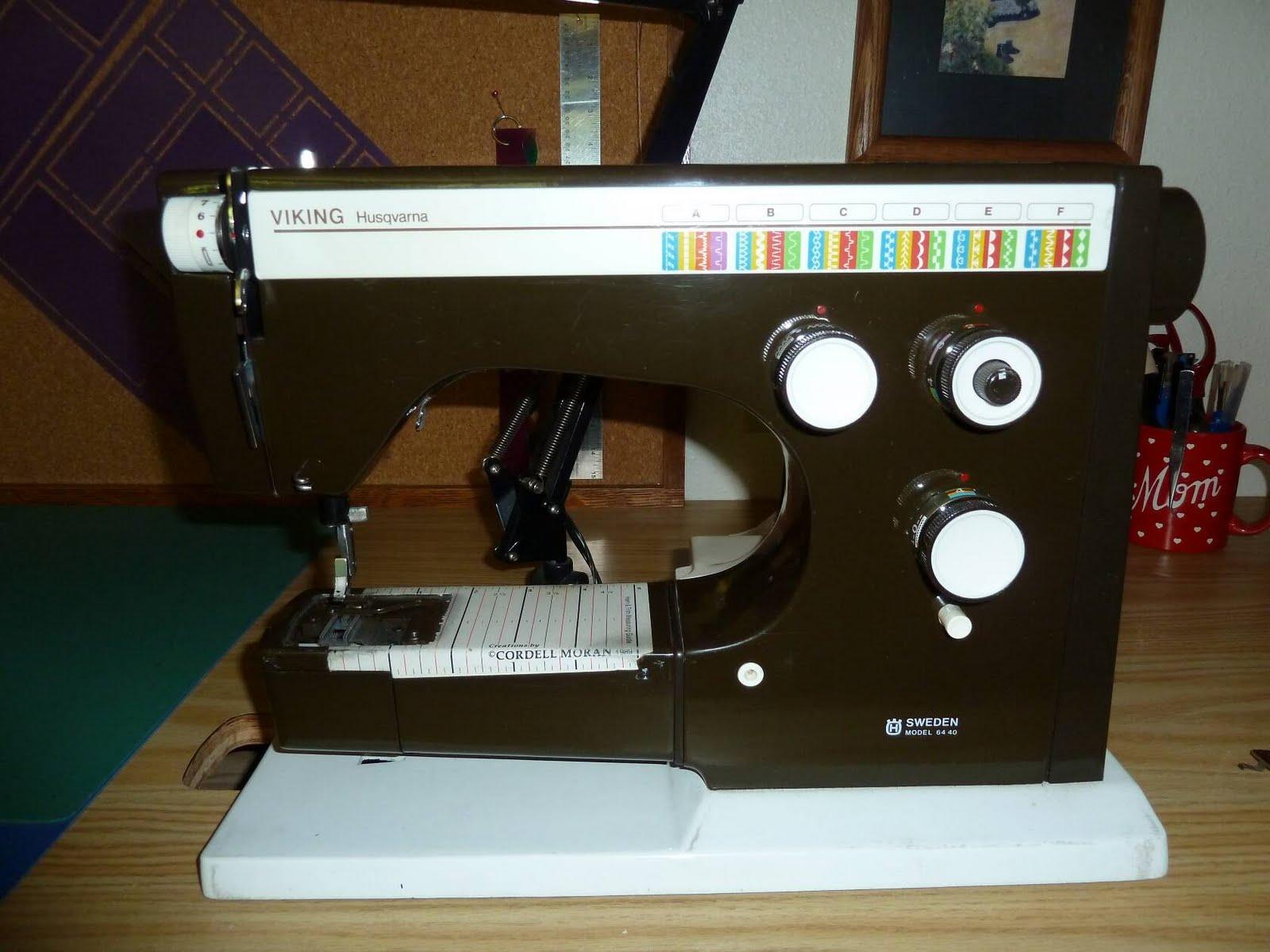 Jim & Linda: Viking Husqvarna Model 6440 Sewing Machine Viking Wiring Diagram on