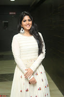 Megha Akash in beautiful White Anarkali Dress at Pre release function of Movie LIE ~ Celebrities Galleries 017.JPG