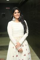 Megha Akash in beautiful White Anarkali Dress at Pre release function of Movie LIE ~ Celebrities Galleries 017.JPG