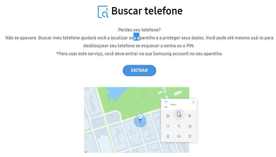 localizar celular perdido online