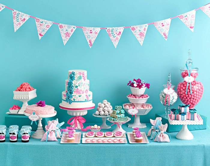 baby shower decorazioni