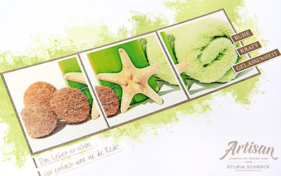 stampin up-layout-artisan textures