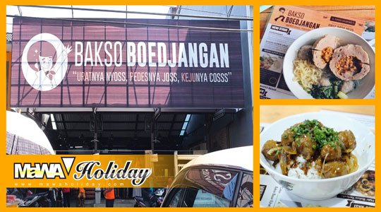 Wisata Kuliner Hits Bandung Bakso Boedjangan