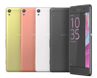 Sony Xperia XA - Colores