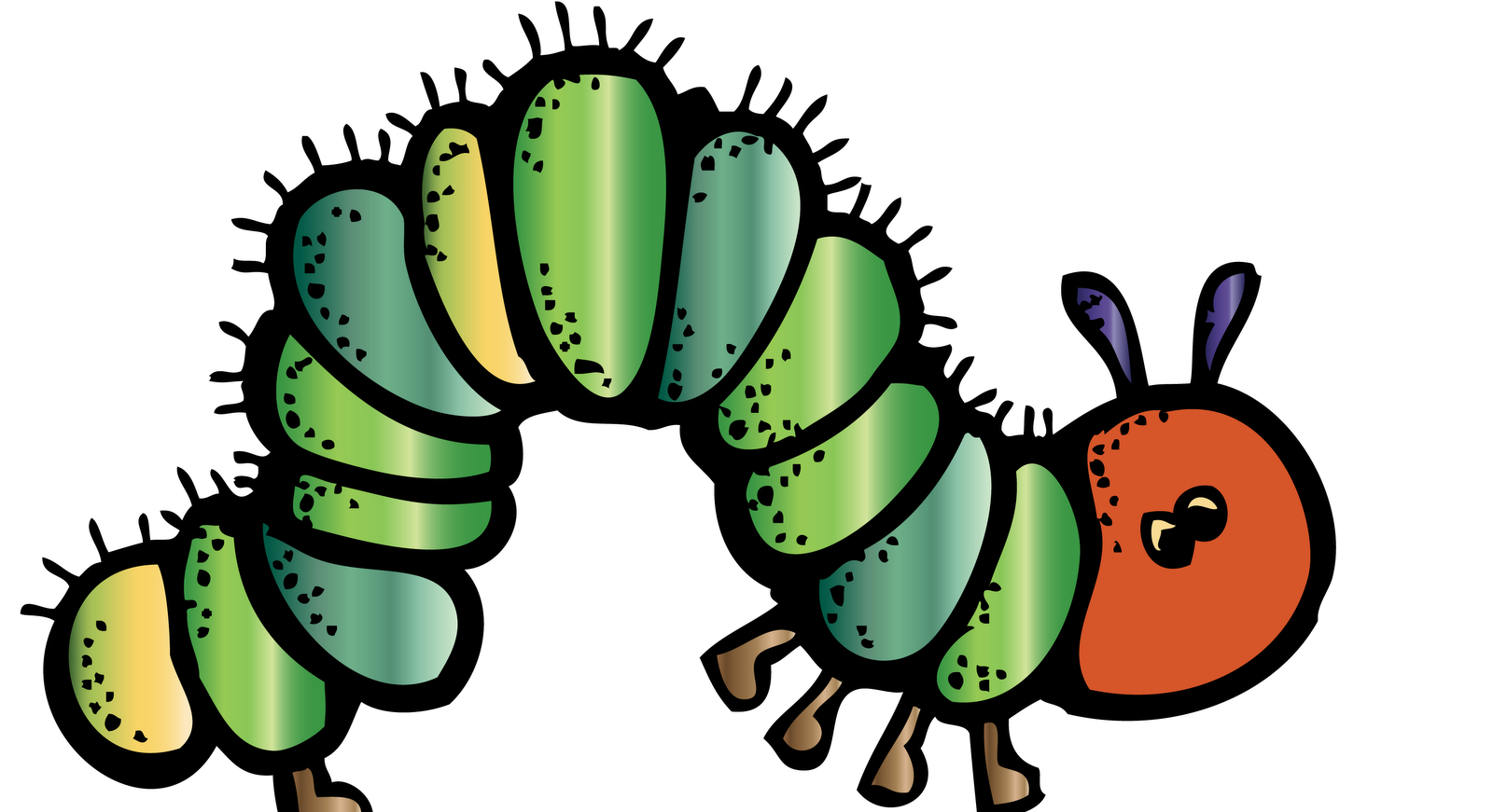 KinderKids: The Very Hungry Caterpillar Math Journal Freebie
