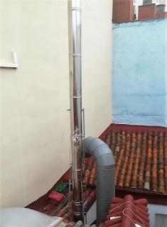 foto solución problema de altura salida de humos
