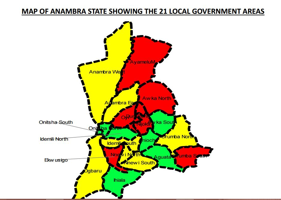 Image result for pictures of obiano in anambra map