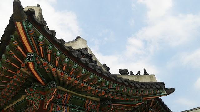 Tejados del Palacio de Changdeokgung