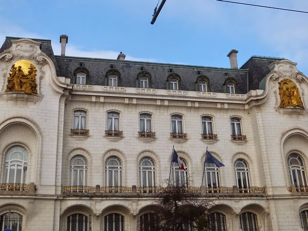 Vienne Wien art nouveau sécession ambassade france