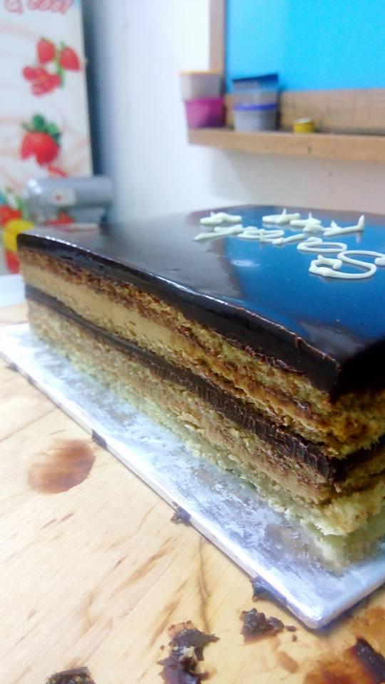 Joconde Cake Adalah