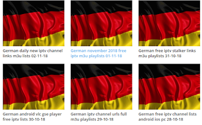 German iptv m3u playlists free download 03-11-18
