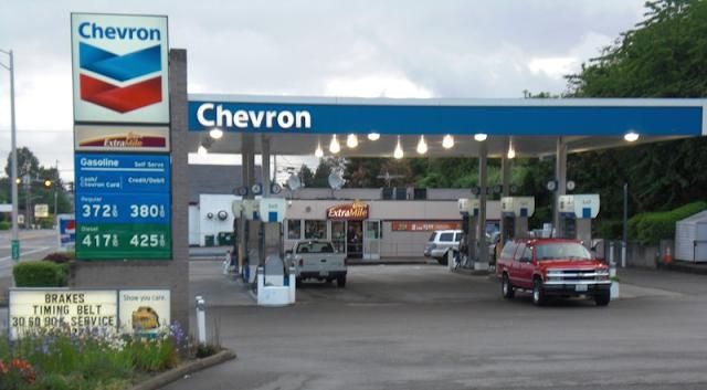 Gasolineras Chevron Y Shell Entrar 225 N Primero A Tijuana