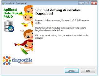 Proses Instalasi Dapopaud