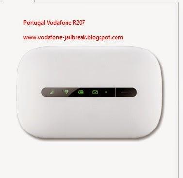 Unlock Portugal Vodafone R207 3G Mobile WiFi Hotspot Router