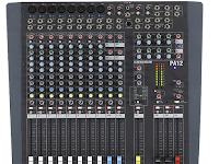 spesifikasi Allen & Heath PA 12 Mixer terbaru