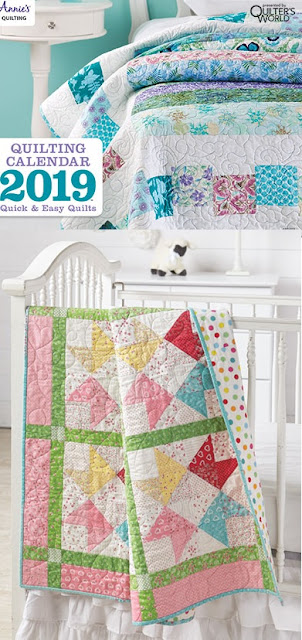 2019 Quilting Calendar Quick and Easy Quilts