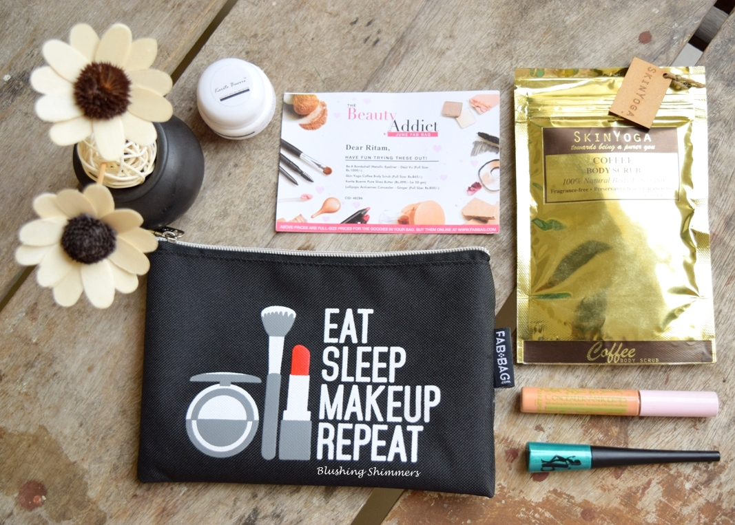The Beauty Addict June Fab Bag