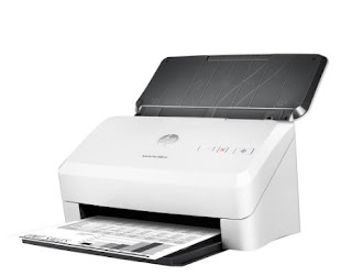 Hp scanjet error messages display on the scanning software in a.