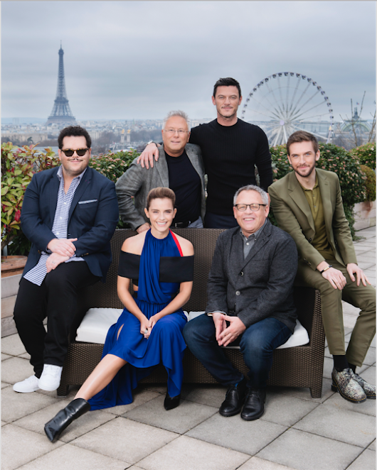 "The Cast of ""Beauty and the Beast"" Kicks Off Their Worldwide Tour in Paris"