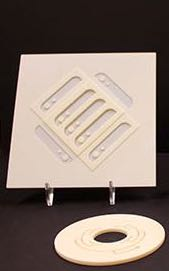 AlN ceramic heaters