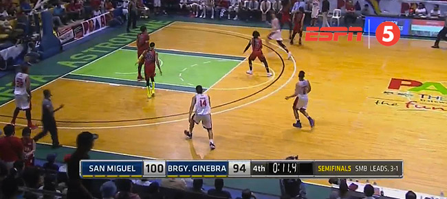 San Miguel eliminates Ginebra, 100-94 (REPLAY VIDEO) Semis Game 5 / March 17