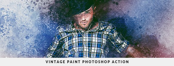Painting 2 Photoshop Action Bundle - 48