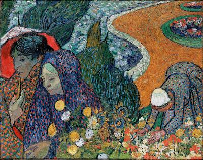 Memória do Jardim em Etten (Senhoras de Arles), 1888