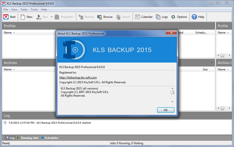 KLS Backup Professional 2015 Crack
