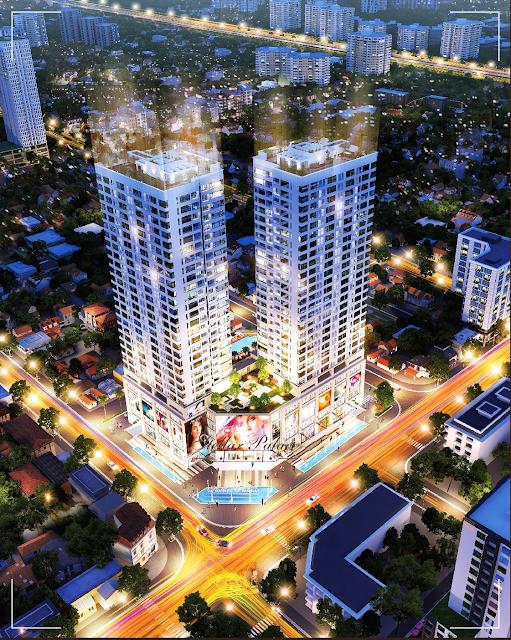 Phối cảnh dự án Stellar Palace Lê Văn Thiêm
