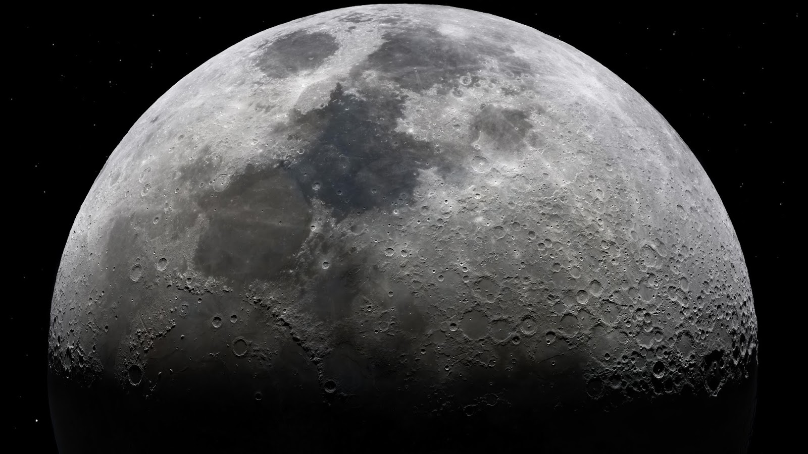 MOONSTROSITY™ ein 8K Mond-Foto von Andrew James McCarthy | Wallpaper Galore