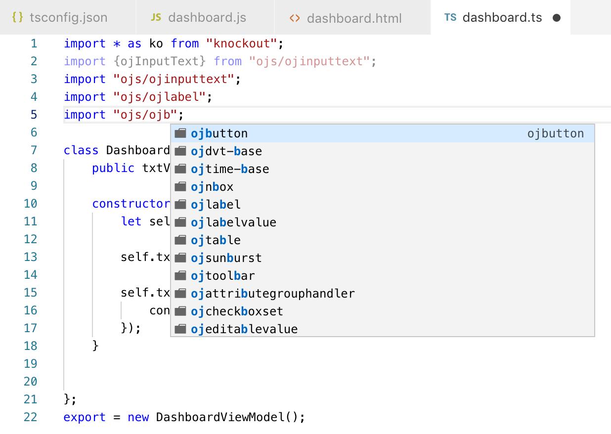 Andrej Baranovskij Blog: TypeScript Example in Oracle JET 6 0 0