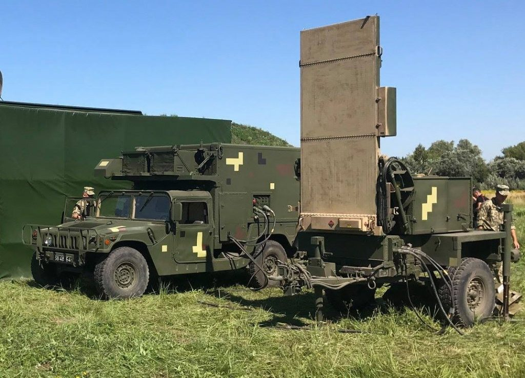 Sistema de localização de artilharia AN/TPQ-36. Foto de Yuriy Biryukov