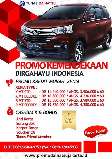 Promo Daihatsu GIIAS 2017 Promo Xenia Bekasi Jakarta