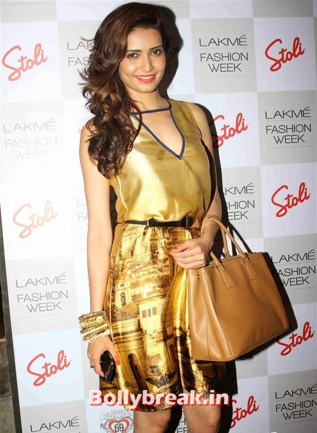 Karishma Tanna, Lakme Fashion Week 2014 After Party Pics