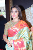 Shriya Saran Looks Stunning in Silk Saree at VRK Silk Showroom Launch Secundrabad ~  Exclusive 134.JPG