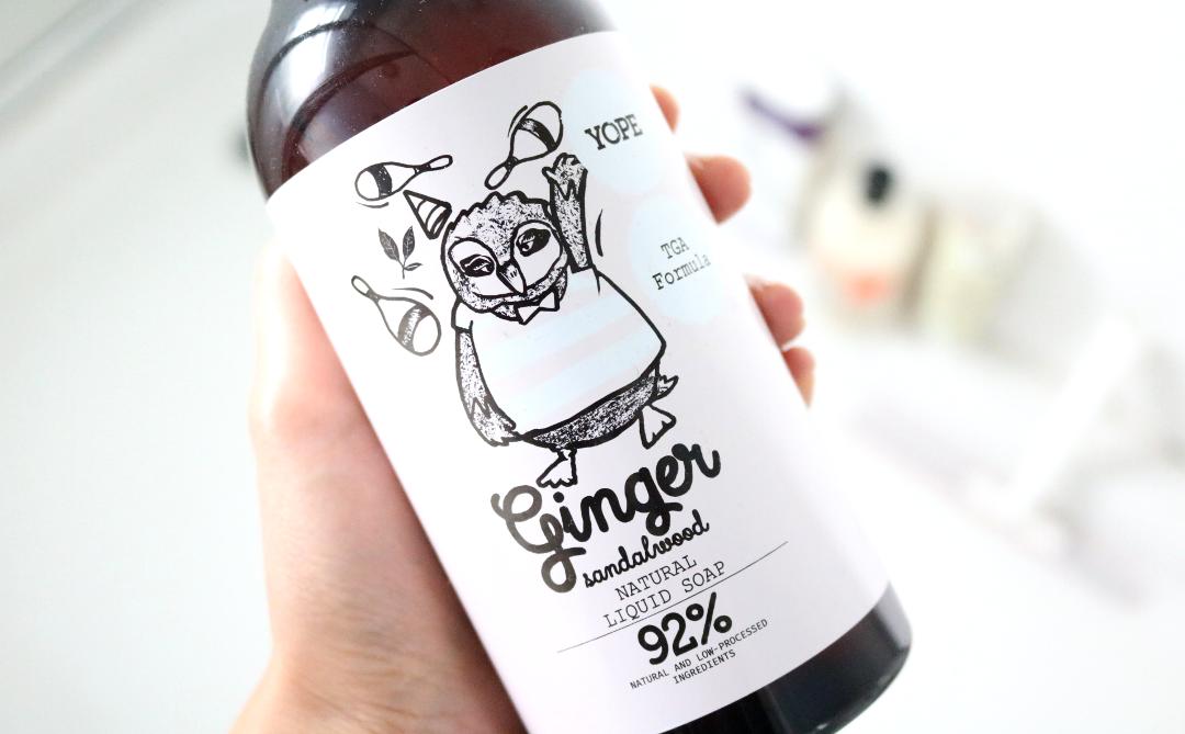 YOPE - Ginger Sandalwood Natural Liquid Soap review