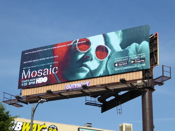 Mosaic series premiere billboard