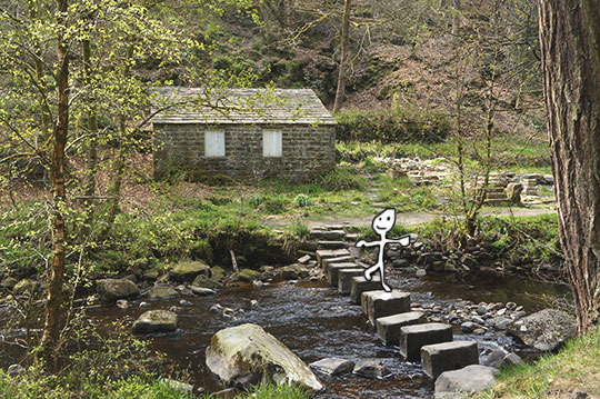 Hardcastle Craggs, Hebden Bridge, landscape, travel, photography, art, Yorkshire, England, countryside, contemporary art,