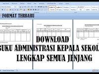 Download Berkas Administrasi Kepala Sekolah