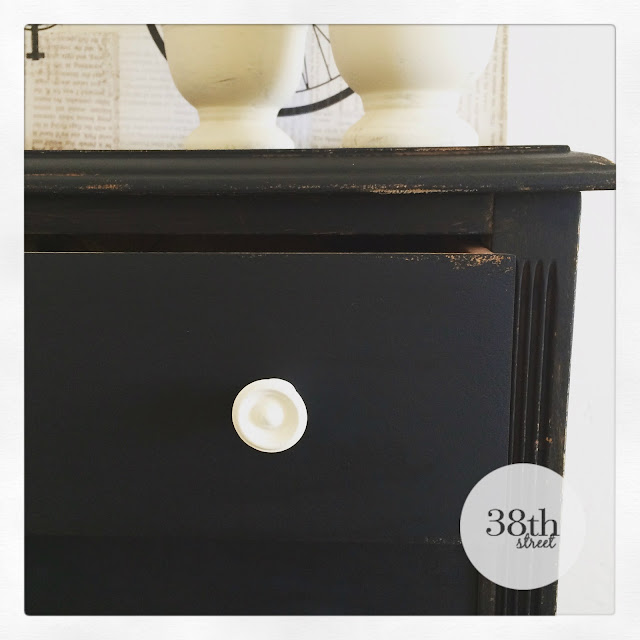 black dresser white knobs, diy, before and after, furniture makeover, dresser makeover, storage solutions