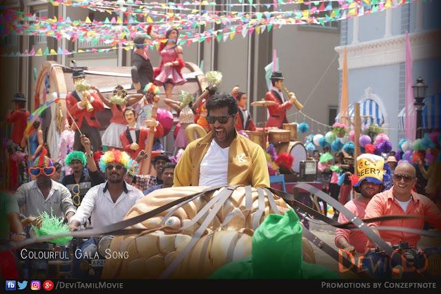 Abhinetri movie Latest Stills