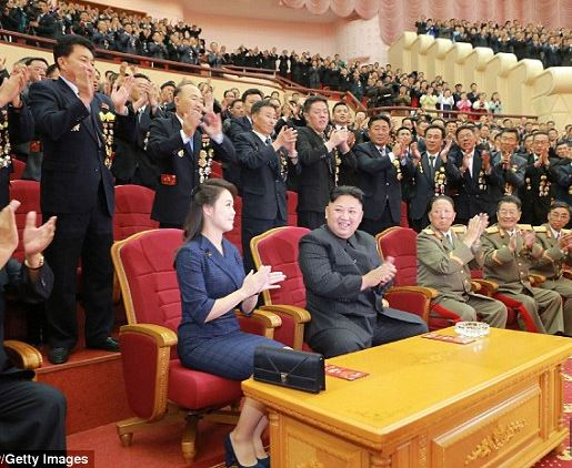 (Photos): Kim Jong-un throws a huge party for the scientists behind North Korea's latest nuclear bomb test