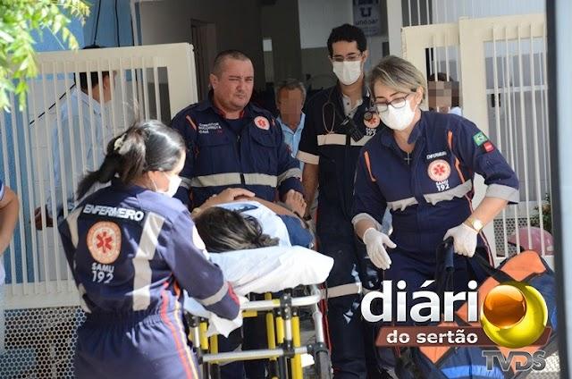 Cozinheira desmaia após sofrer choque elétrico em escola particular em Sousa-PB