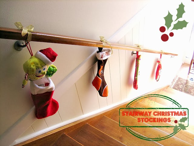 Stairway Christmas Stockings, Natasha in Oz