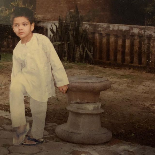Ali Fazal Childhood Picture